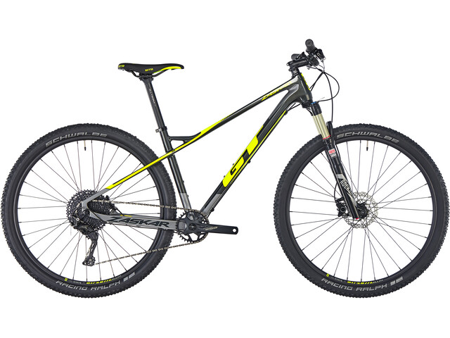 "GT Bicycles Zaskar Carbon Comp MTB Hardtail 29"" grijs"